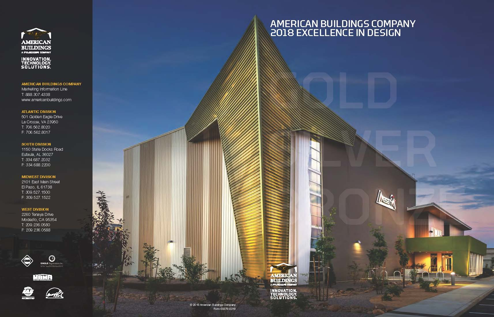To Learn More About The American Buildings Company 2018 Exellence In Design Compeion Click Here